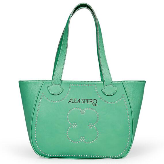 bolso aleaspero eibsee steel piel verde