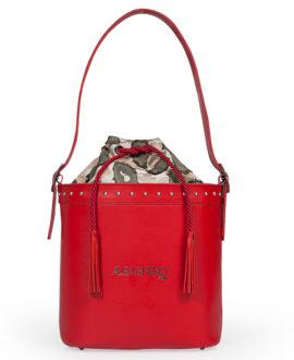 bolso aleaspero tahoe steel piel rojo