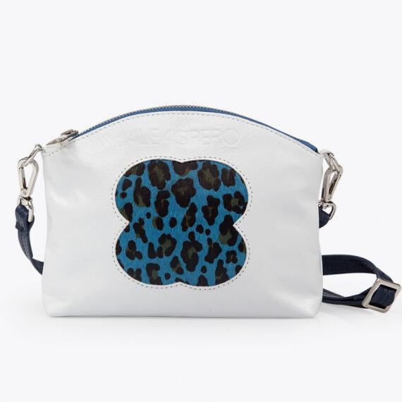 bolso alena leopardo piel blanco