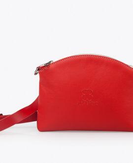 bolso alena newyork piel rojo