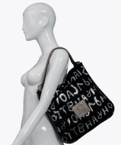 bolso mochila aleaspero nyasa lentejuelas negro piel natural hombro