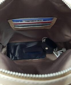 bolso mochila aleaspero ayre piel interior del