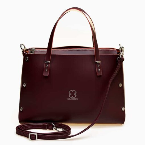 bolso alea spero spain leather frente
