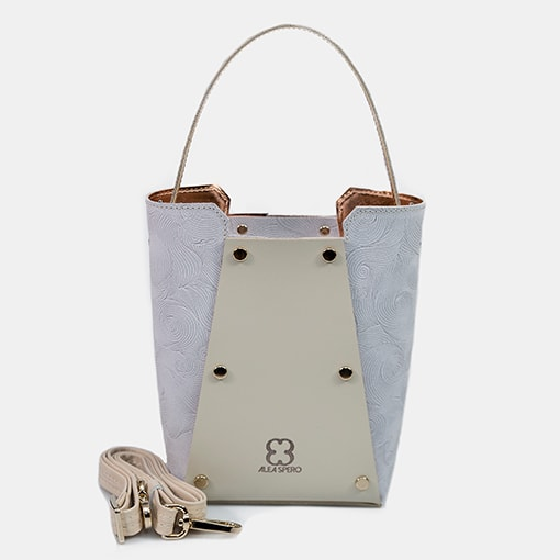 Bolsos shopper mini beig