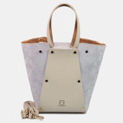 Bolso shopper beige